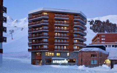 Hotel Araucaria, La Plagne ⭐⭐⭐⭐