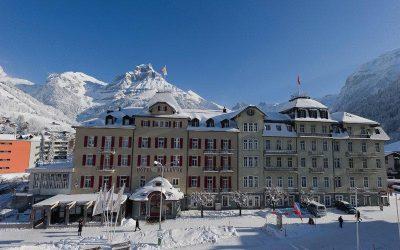 Hotel Bellevue-Terminus, Engelberg ⭐⭐⭐⭐