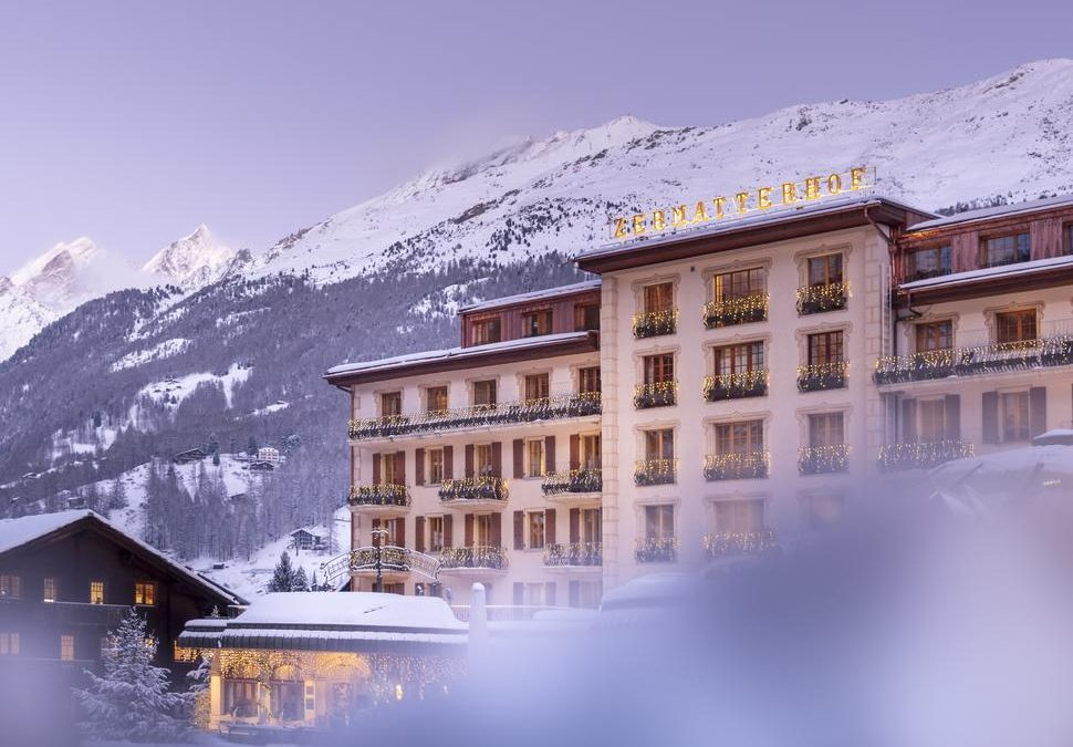 The Grand Hotel Zermatterhof, Zermatt ⭐⭐⭐⭐⭐